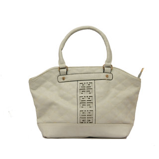 Levise London Designer Handbag For Women - Ladies Handbags Made of Quality PU Leather Bag For Girls - White,LL-313