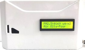 RA Air Quality Monitor with Live interpretation of Air Pollution