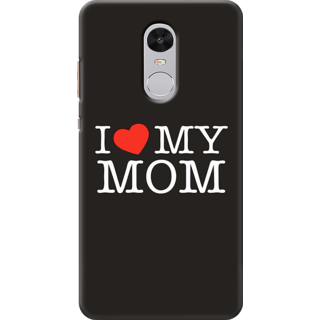 cheaper 7de21 3f267 Printed Designer Back Cover For Redmi Note 5 - I Love My Mom Design