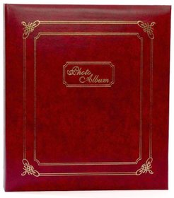 Leather Design Stylish Fancy Brown Color Photo Album Size 4 inch-6 inch-200 Photo Pockets (mc2118)