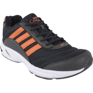 campus 3G-378 D.Gry/Org Men Running shoes