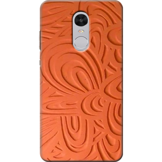 Buy Printed Designer Back Cover For Redmi Note 4 Wood Carving