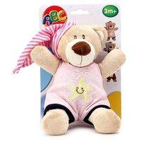 ABC Sleep Well Bear Soft Toy - Height 25 Cm