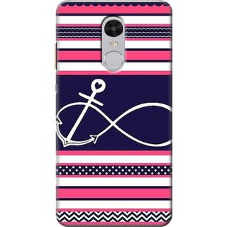 Printed Designer Back Cover For Redmi Note 4 - Tribal Pattern Design