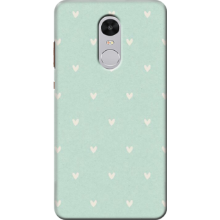 Printed Designer Back Cover For Redmi Note 4 - Pink Black Bow Design