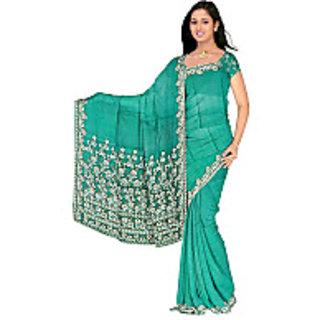 Banaras Crepe Weaving Saree