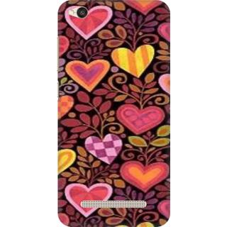 Printed Designer Back Cover For Redmi 5A - Love Design
