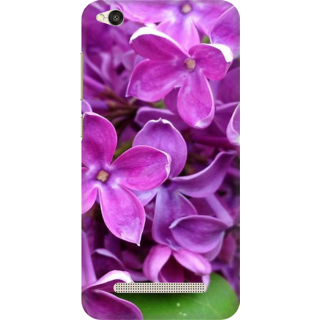 Printed Designer Back Cover For Redmi 5A - Flower Design