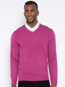 Red Tape Pink Full Sleeve Sweater