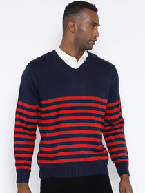 Red Tape Multi Full Sleeve Sweater