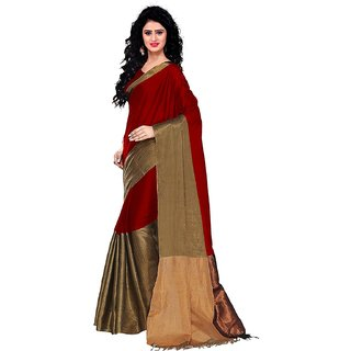 GANGA SHREE self design multicolor cottan silk saree, latest heavy cottan silk saree new design 2018