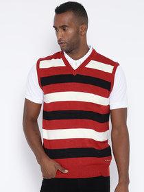 Red Tape Multi Sleeveless Sweater