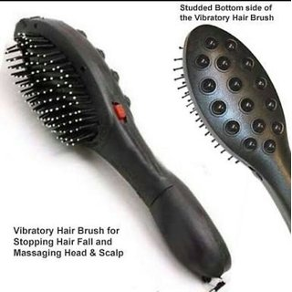 EXCLUSIVE Magnetic Hair Brush Massage System (Set of 1)