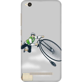 Printed Designer Back Cover For Redmi 4A - Cycling Sports Design