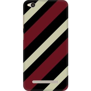Printed Designer Back Cover For Redmi 4A - Colorful Parallel Stripes Design