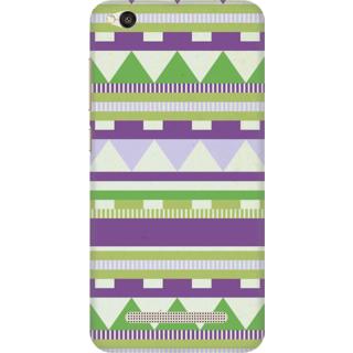 Printed Designer Back Cover For Redmi 4A - Tribal Pattern Design