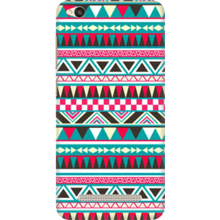 Printed Designer Back Cover For Redmi 4A - Tribal Pattern Design