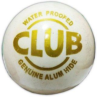 Aryans Club White Cricket Ball