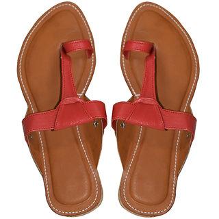 Decot Paradise Women Red Ethnic Footwear