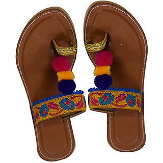 Decot Paradise Women Multicolor Ethnic Footwear