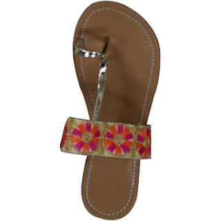 Decot Paradise Women Brown Ethnic Footwear