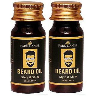 Park Daniel Premium Beard Oil combo pack of 2 No.35 ml Bottles(70 ml)