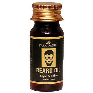 Park Daniel Premium Beard Oil for Beard Hair growth(35 ml)