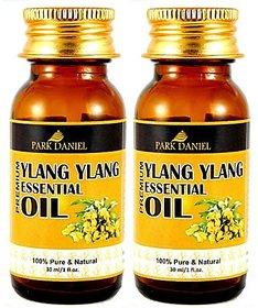 Park Daniel Premium Ylang Ylang Essential Oil Combo pack of 2 bottles of 30 ml(60 ml)