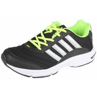 Campus 3G-378 Bk/Sil/F.Grn Men Running Shoes