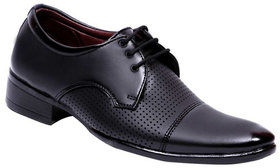 00RA MEN'S DRESS SHOE BLACK COLOR OFFICE WEAR FORMAL SHOES FOR MEN
