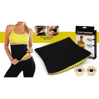 ca0ce818dc Buy Neoprene Men s Black Yellow Shapewear Online - Get 40% Off
