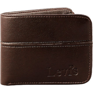 ZINIZONY Men'S Brown Themes Leather RFID Blocking Wallet (Synthetic leather/Rexine)