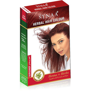 Synaa Herbal Hair Color Burgundy