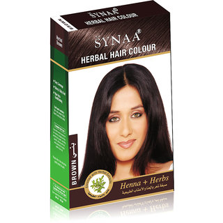 Synaa Herbal Hair Color Brown