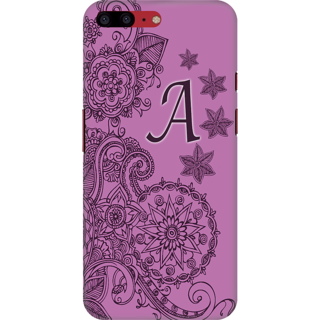 Buy Printed Designer Back Cover For Oneplus 5T - Floral Pattern ...