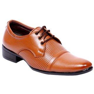 Dress Shoe Tan Color Office Wear Formal