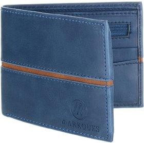 MarkQues Ego Blue Men'S Wallet (EGO-4405)