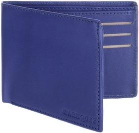 MarkQues Aura Blue Men'S Wallet (AUR-4405)