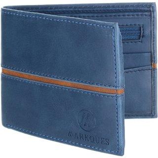 MarkQues Ego Blue MenS Wallet (EGO-4405)