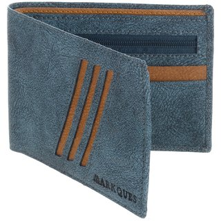 MarkQues Falcon Blue MenS Wallet (FC-4405)