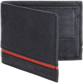 MarkQues Delight Black MenS Wallet (DLT-4401)