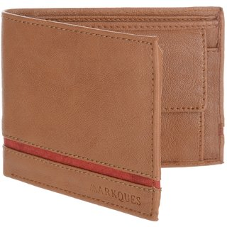 MarkQues Delight Tan MenS Wallet (DLT-4404)