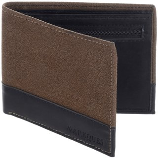 MarkQues Tarrain Brown MenS Wallet (TRN-440201)