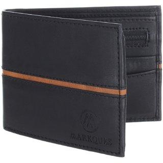 MarkQues Ego Black MenS Wallet (EGO-4401)