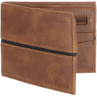 MarkQues Ego Brown MenS Wallet (EGO-4402)