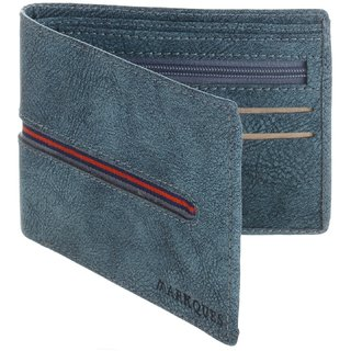 MarkQues Viking Blue MenS Wallet (VK-4405)