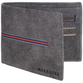 MarkQues Viking Grey MenS Wallet (VK-4413)