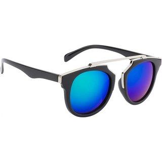 ed3fb2f4059 Buy THE BIKERZ Turquoise Wayfarer UV Protection Unisex Sunglasses Online    ₹599 from ShopClues