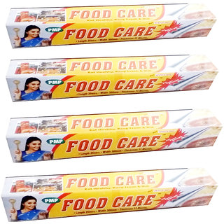 Food Care Aluminium Foil 25 Mtr x 4pcs