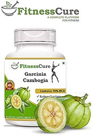 Fitnesscure 100% Natural Pure Garcinia Cambogia For Wei